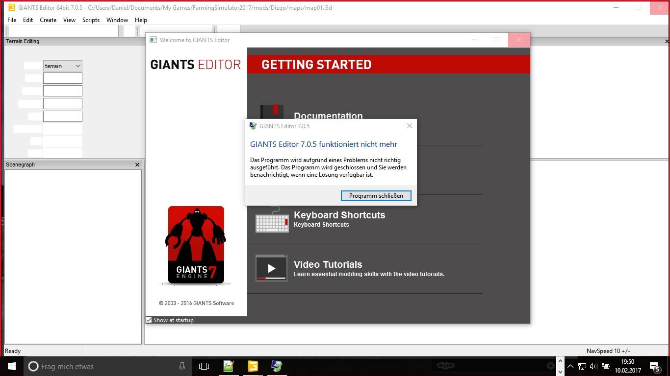 Giants Editor 7.0.5 funktioniert nicht mehr - Sonstiges ...