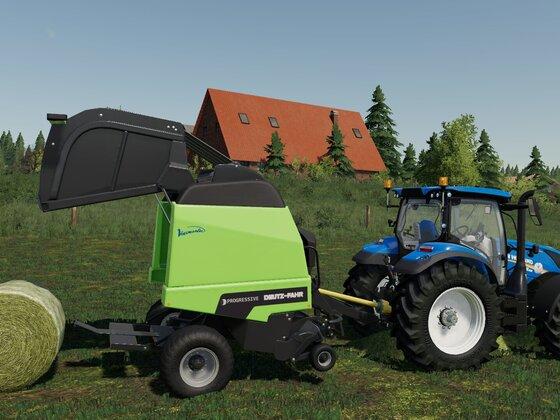 New Holland T6.155 & Deutz-Fahr Varimaster
