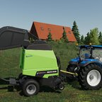 New Holland T6.155 & Deutz-Fahr Varimaster