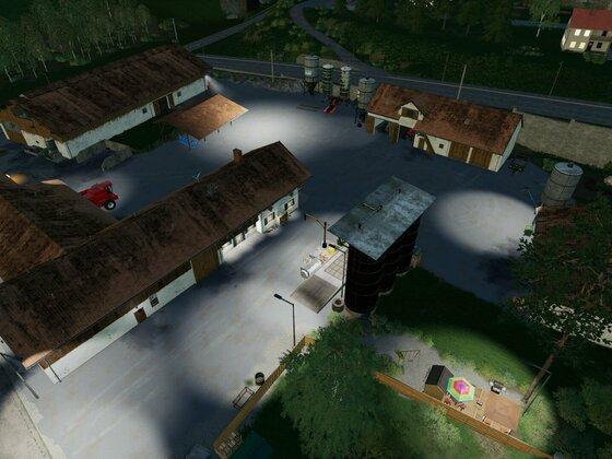 Hof statt Sportplatz