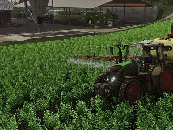 Pflanzenschutz muss auch sein