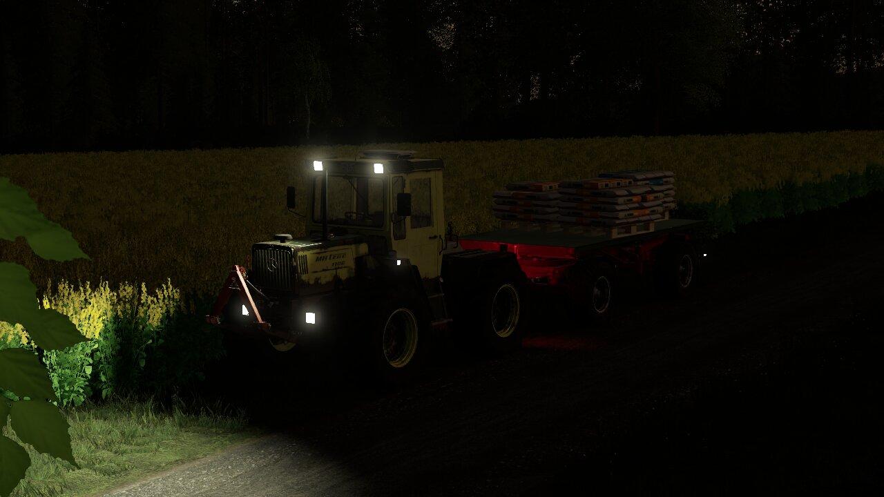 MB zum Saatguttransport