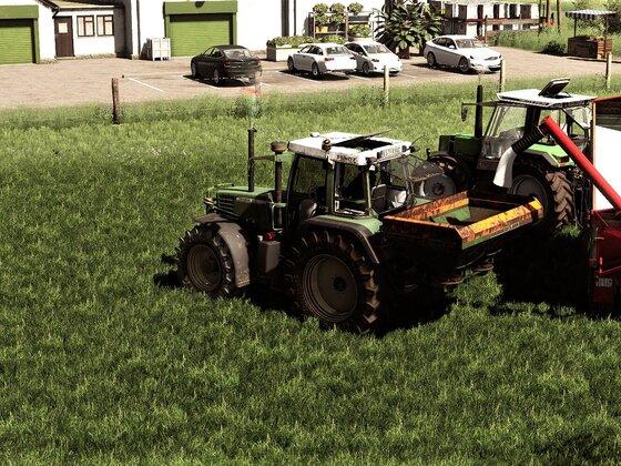 Auch das Gras verdient Pflege