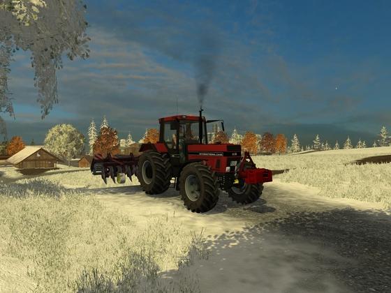 Arbeiten im Schnee!