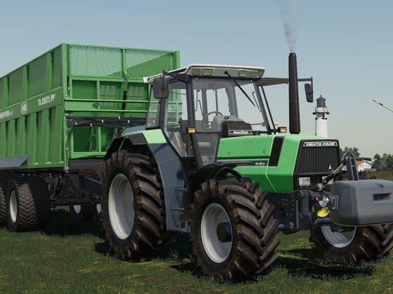 Deutz Agrostar 6.61 & Brantner TA 23071