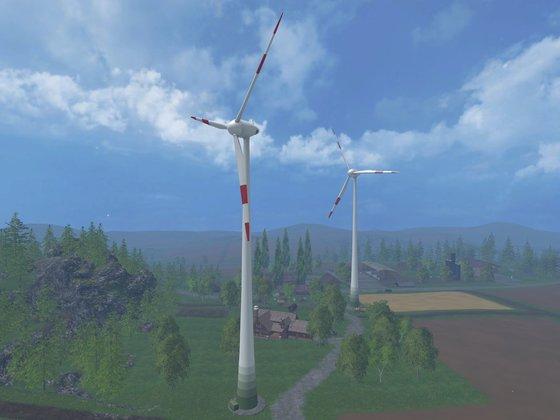 Alt bekanntes Windrad für LS15