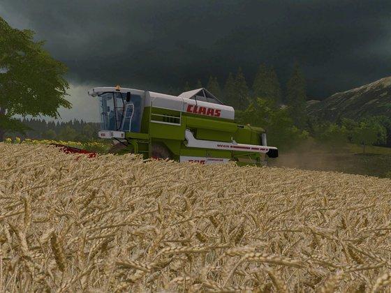 Hoffe, ich bekomm die Ernte noch rein, bevor es losgeht :(