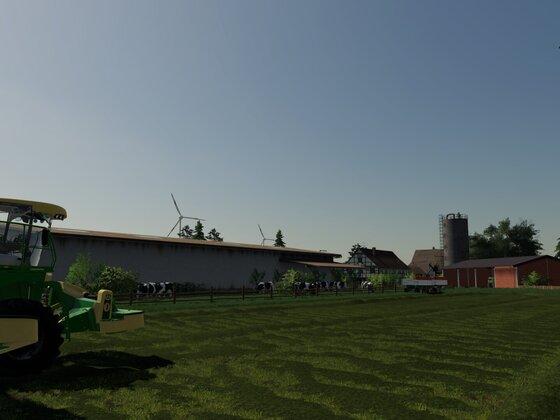 Hof um Biogas und Milchviehhaltung erweitert ... läuft im Norden