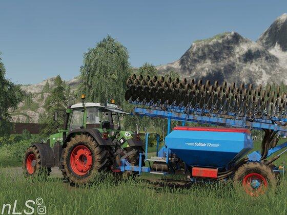 Getreide sähen in Felsbrunn :)