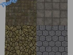 Steinwege zum Einbauen