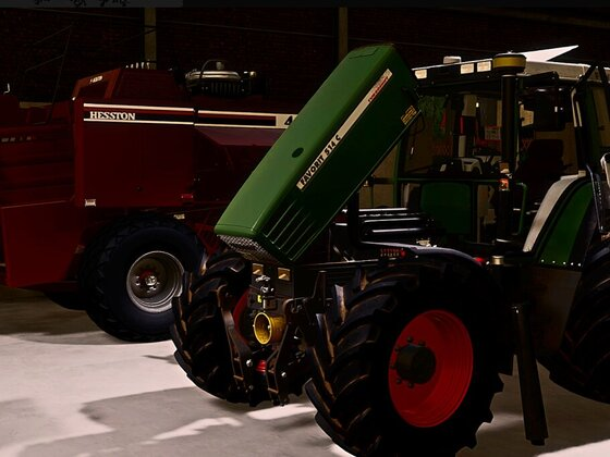 #Fendt #Favorit500 #Servicetime
