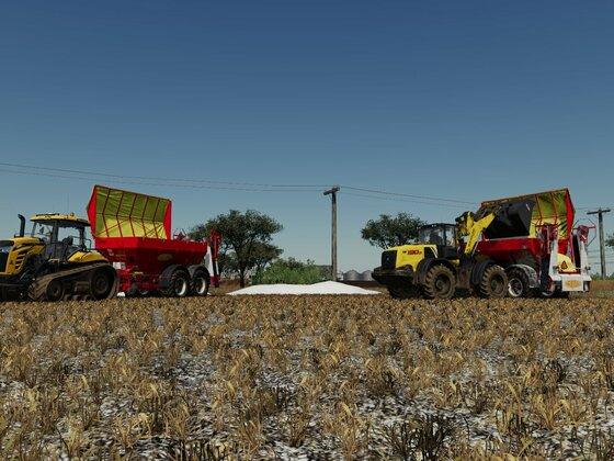 """Kalk streuen auf der """"Golden Farms"""""""