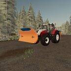 Steyr 6230CVT vorbereiten für den Winterdienst auf der Hinterkaifeck :)