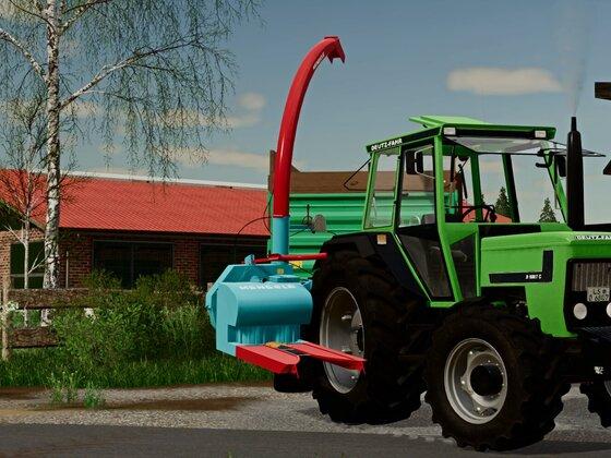 Bereit für die Maiskampagne 1986  #KHD Power #Landwirtschaft früher
