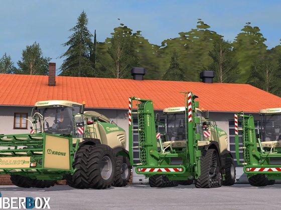 Big X580 mit kleinen Änderungen
