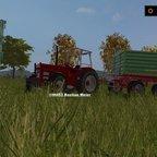 IHC 633 Mit Strautmann Kipper
