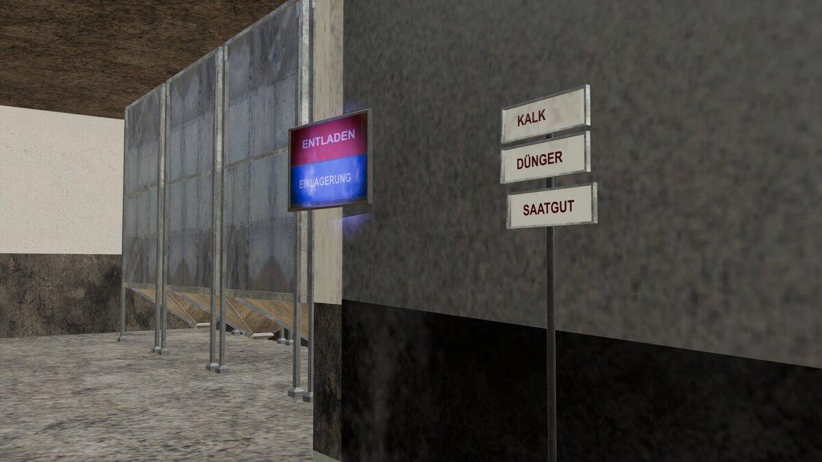 Die Informationschilder zerstören die Höfe der Hinterkaifeck