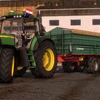 Jd 7130 + Farmtech  Los geht's Croatien ️