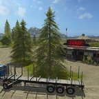American_Logger_Truckstop_am_Hafen