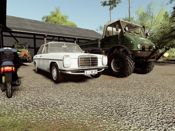 Meine Benz Flotte