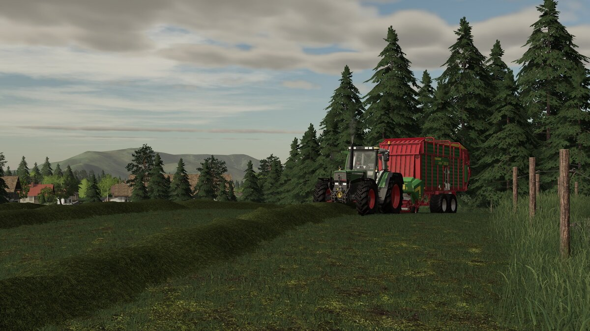 Gras silieren in Oberellerbach ;)