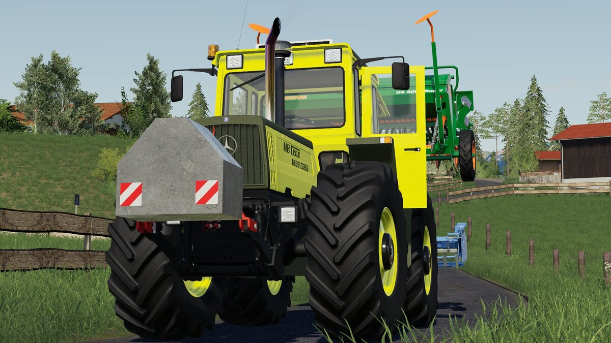 MB Trac 1600