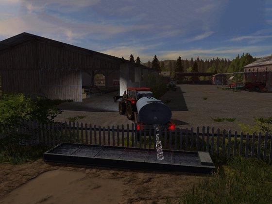 Vor der Feldarbeit kommt die Hofarbeit :)