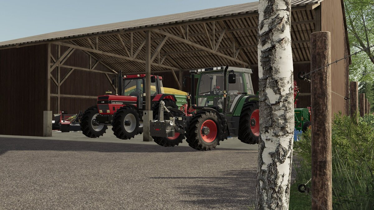 Case 1455XL und Fendt GTA 380 Turbo