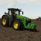 Maisstoppeln einarbeiten