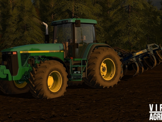 John Deere 8200 and Meyer Sauzahn SZ4000