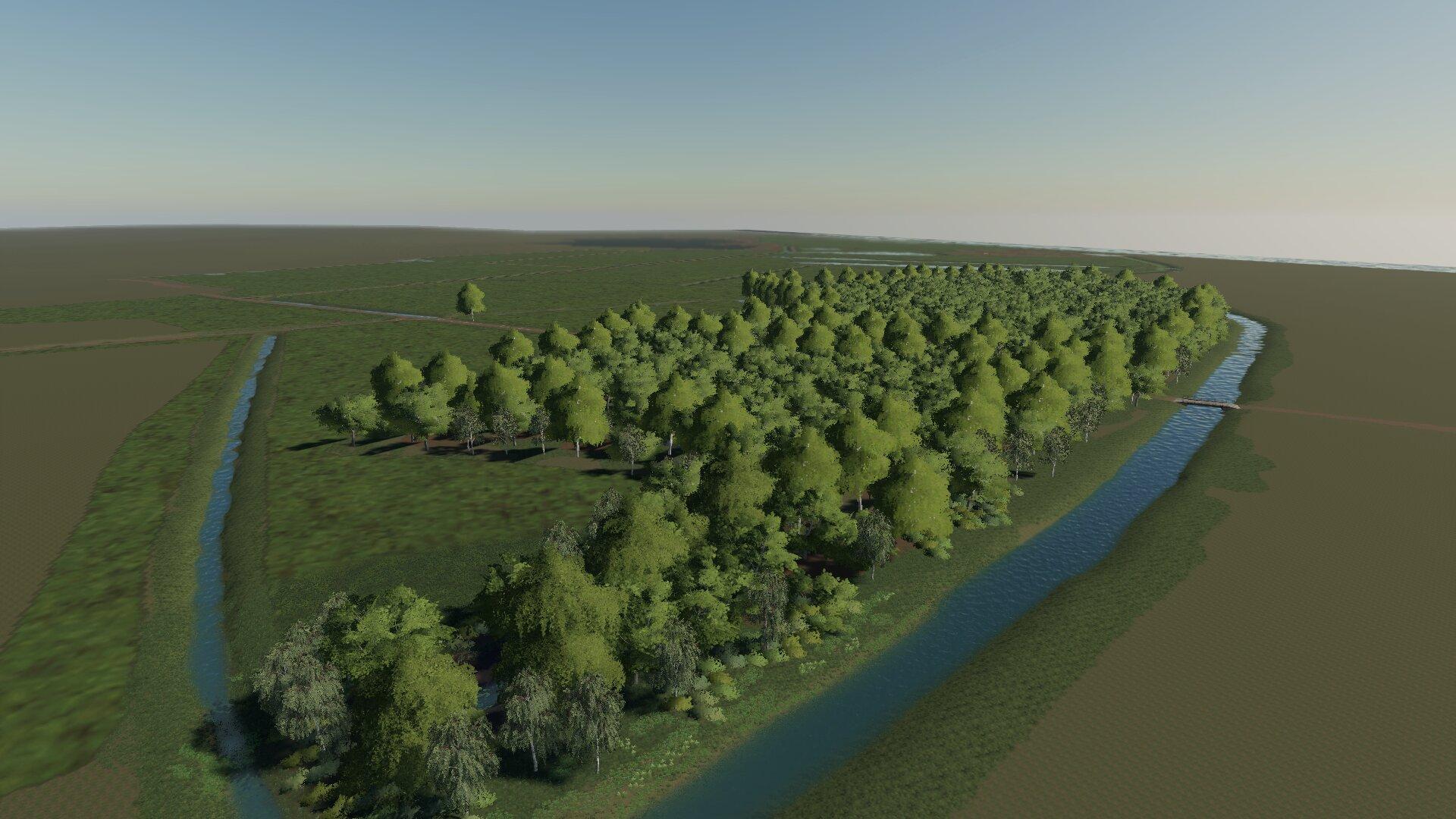 die Wiesen im Landgrabental nehmen formen an