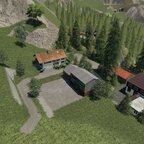 Kurz ein kleiner Hof gebaut