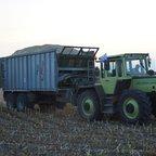 MB Trac 1500 auf dem Feld.