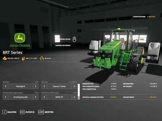 DEMCO Tanks als zusätzliche Option