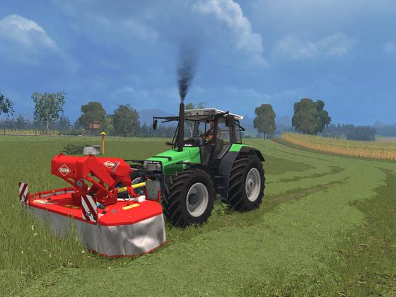 Mähen mit dem AgroStar 4.68