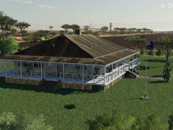 neues Farmhaus