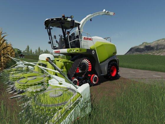 Der 870 ist bereit den Mais wegzubeißen :D