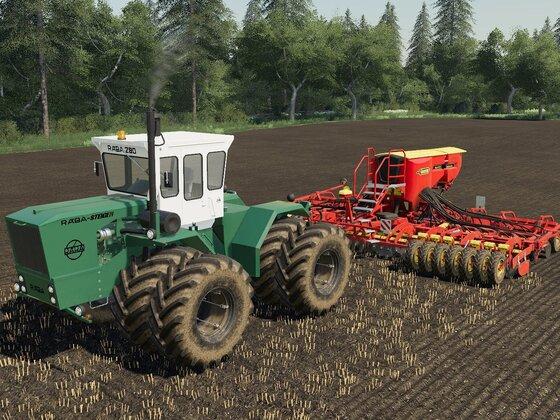 Auf Feld 23 wird Weizen bestellt ...