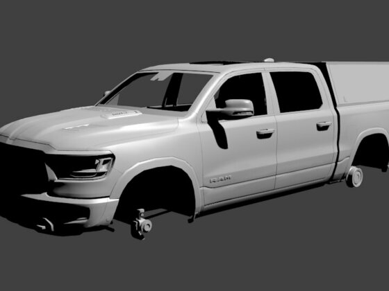 Dodge RAM mal bei Alu-Cab vorbeigebracht *WIP*