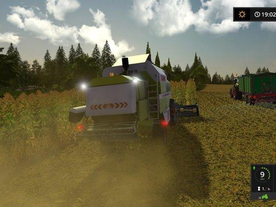 Harvesting season just begun