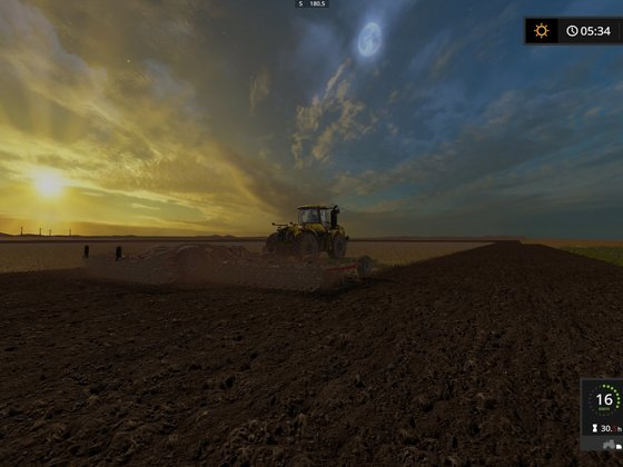 Sonnenaufgang im Cornbelt