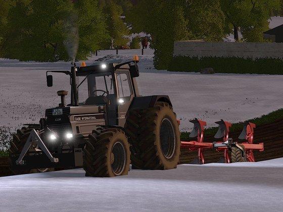 Den Kleinen noch ein bissl im Schnee spielen Lassen