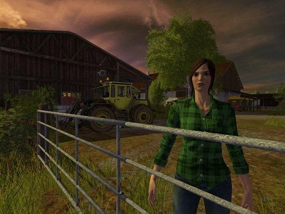 Virtuelle Farm-Romantik