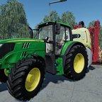 John Deere 6155M + Hardi Mega 2200