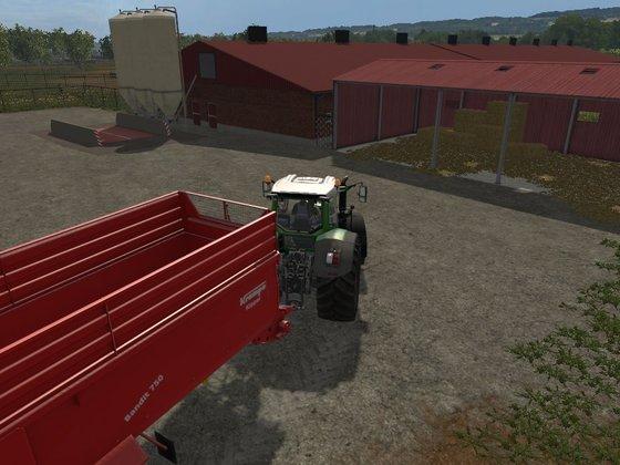 Getreide und Strohverkauf bei Firma Eierle (Hühnerfarm)