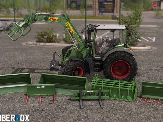 Neues Spielzeug für den Hof