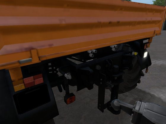 Mal 2 Hydraulikanschlüsse für den IT-Runner nachgerüstet