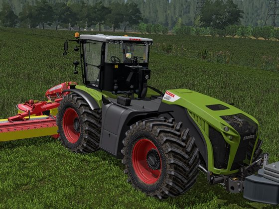 Claas Xerion & Pottinger Novacat