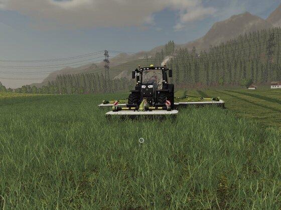 Gras mähen