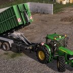 JD 7530 + ITRunner &  Abfall Container